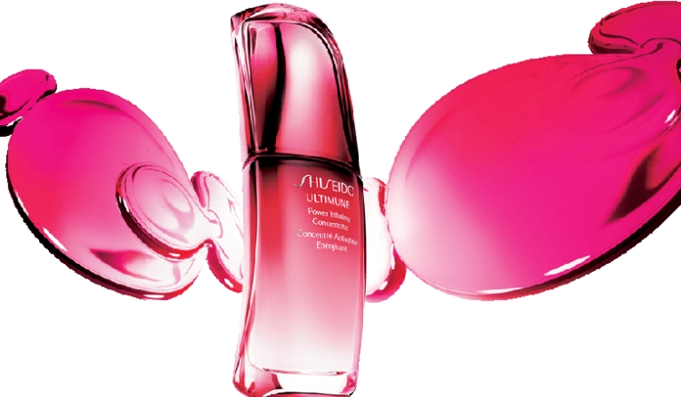 Luxury cosmetics Shiseido
