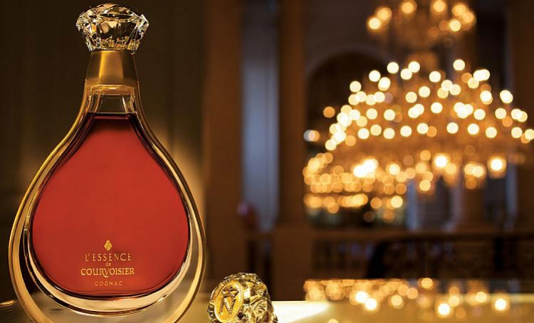 Luxury cognac L'Essence de Courvoisier