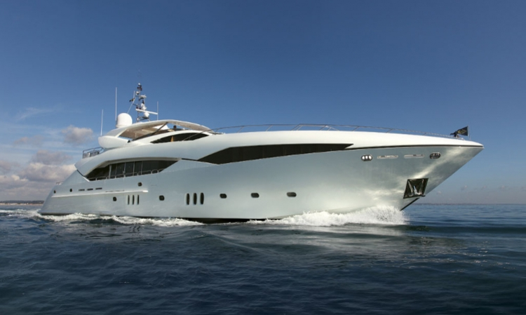 Luxury Sunseeker yacht