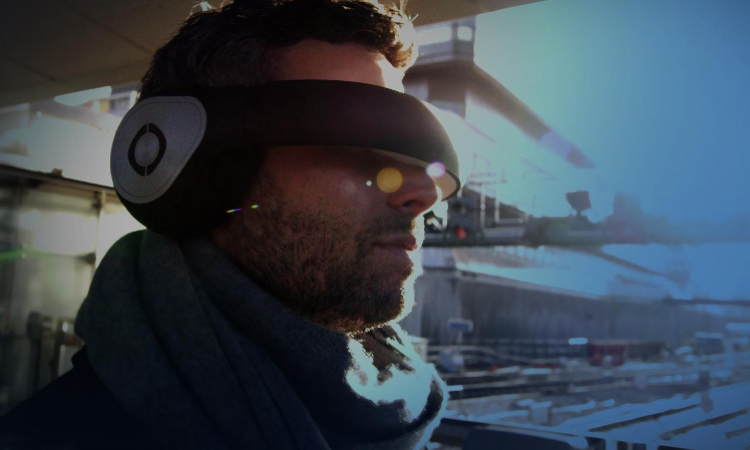 Avegant Glyph Headset Combines Headphones with Slick Eye Display