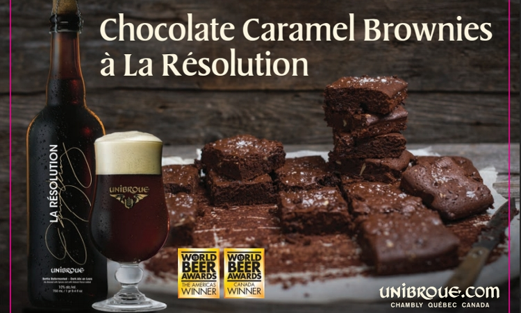 Can you make brownies using beer?