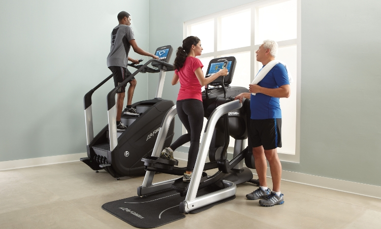 Workout with Life Fitness' Premium Flexstrider