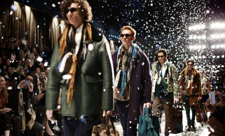 Classically Bohemian' Burberry unveils its latest Menswear Autumn/Winter 2015 collection