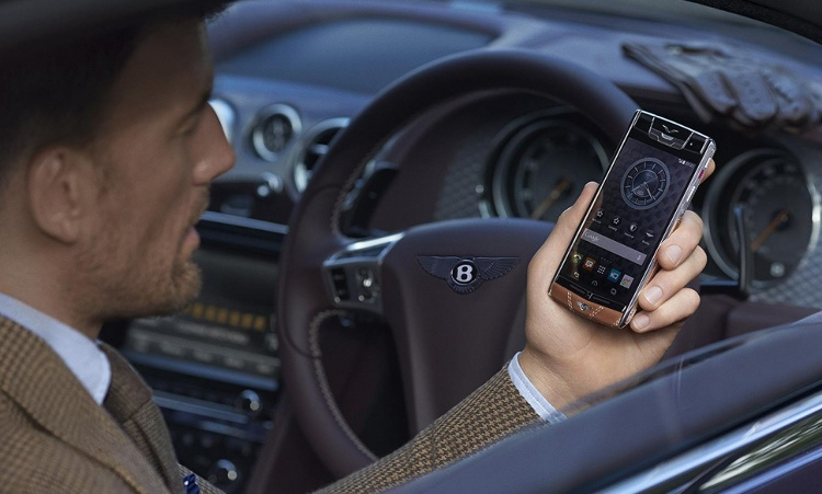The pinnacle of luxury and elegance Vertu for Bentley