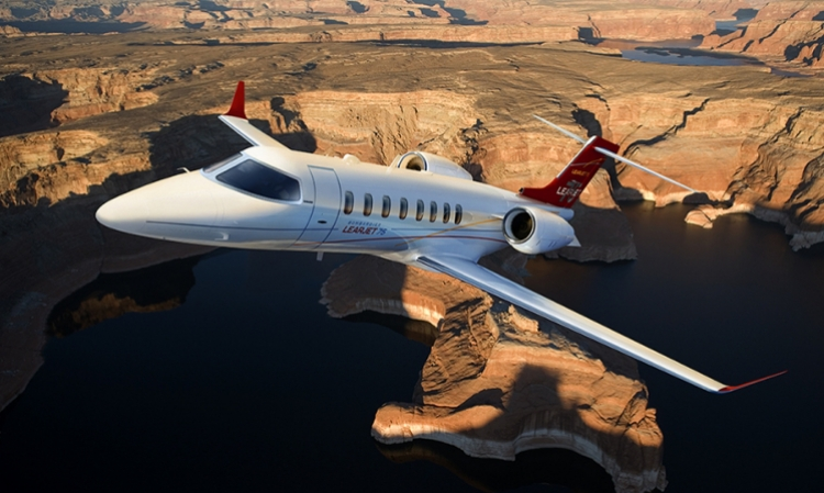 Bombardier Secures Order for up to Nine Learjet 75 Business Aircraft