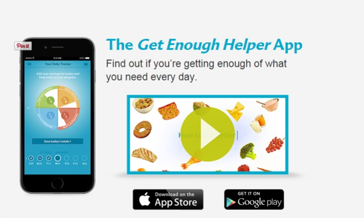 An app for a healthy diet